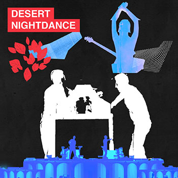Desert Night Dance Playlist Cover